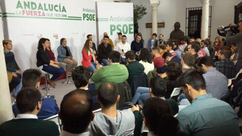 Las Juventudes Socialistas se movilizan contra la LOMCE y las Revalidas.