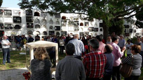 El PSOE en Ayamonte celebró su tradicional Homenaje a los Caídos.