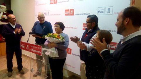 EL PSOE DE AYAMONTE ELIGE A JUANA RODRÍGUEZ ROMERO COMO SOCIALISTA DEL AÑO