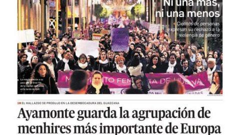 LA PRENSA SE HACE ECO DE UN IMPORTANTE HALLAZGO ARQUEOLÓGICO EN AYAMONTE