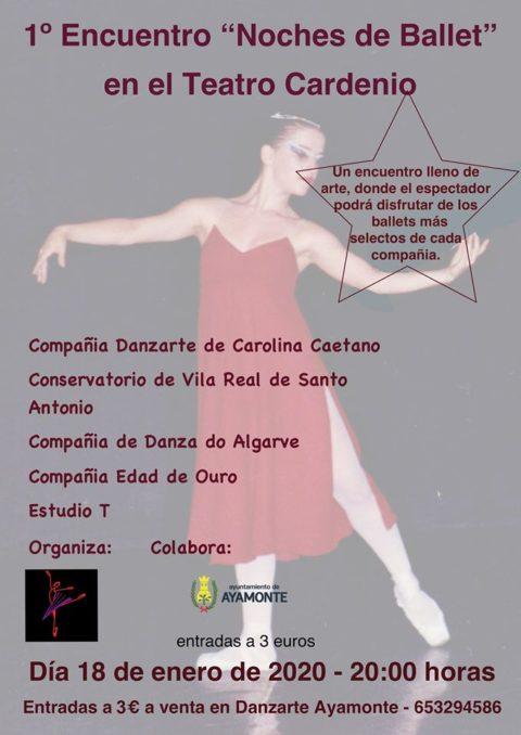 PRIMER ENCUENTRO «NOCHES DE BALLET»
